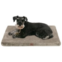 "AKC Pixel Memory-Foam Dog Mat - Large, 30x22"" in Taupe - Closeouts"