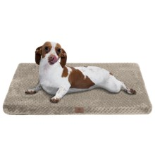 "AKC Pixel Memory-Foam Dog Mat - Medium, 24x19"" in Taupe - Closeouts"