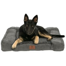 AKC Premium Memory-Foam Dog Sofa in Gray - Closeouts