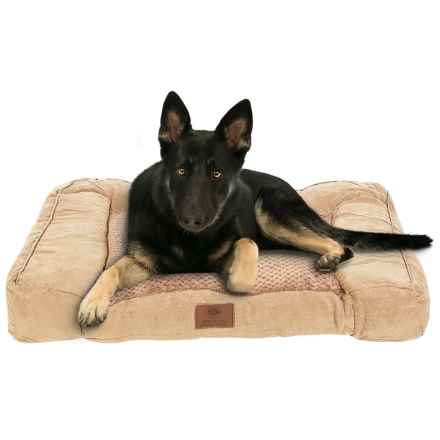 AKC Premium Memory-Foam Dog Sofa in Tan - Closeouts