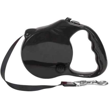 AKC Retractable Leash in Black