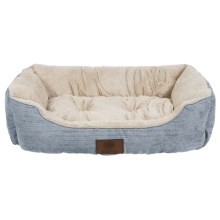 "AKC Spring Mason Cuddler Dog Bed - 28x20"" in Grey - Closeouts"