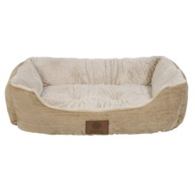 "AKC Spring Mason Cuddler Dog Bed - 28x20"" in Tan, - Closeouts"