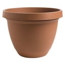 """Akro-Mils Infinity Indoor/Outdoor Planter Pot - 16"""" in Clay - Overstock"""
