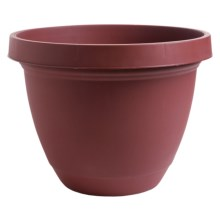 "Akro-Mils Infinity Indoor/Outdoor Planter Pot - 20"" in Warm Red - 2nds"