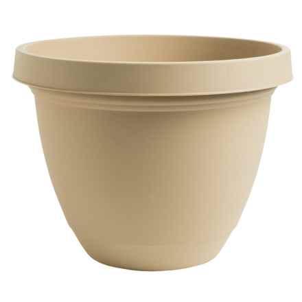 """Akro-Mils Infinity Indoor/Outdoor Planter Pot - 8"""" in Sandstone - Overstock"""