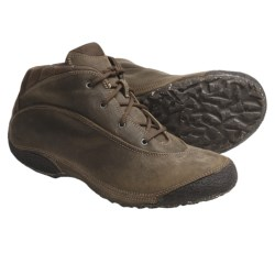 AKU 2W Easy Mid Boots - Leather-Recycled Materials (For Women) in Brown