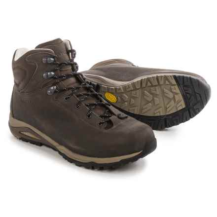 AKU Alpina Plus LTR Hiking Boots - Leather (For Men) in Brown - Closeouts