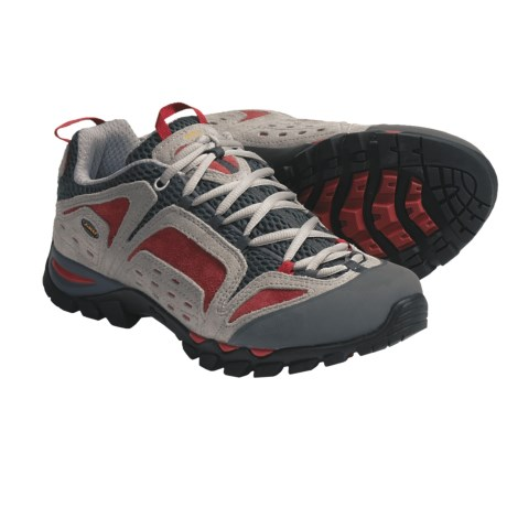 AKU Arriba Trail Shoes (For Men and Women) in Grey/Red