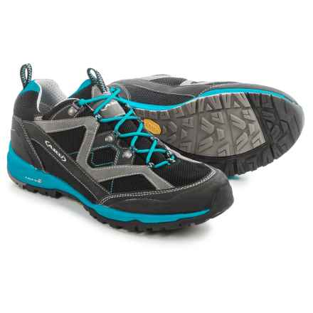 AKU Mio Surround Gore-Tex® Hiking Shoes - Waterproof (For Men) in Black/Turquoise - Closeouts