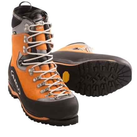 AKU Montagnard Gore-Tex® Mountaineering Boots - Waterproof, Insulated (For Men) in Orange/Black - Closeouts