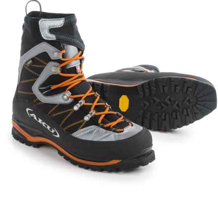 AKU Serai Gore-Tex® Mountaineering Boots - Waterproof, Insulated (For Men) in Orange/Black - Closeouts