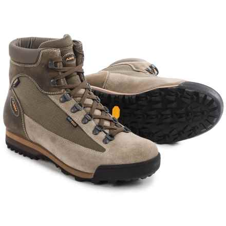 AKU Slope Gore-Tex® Hiking Boots - Waterproof, Suede (For Men) in Beige - Closeouts