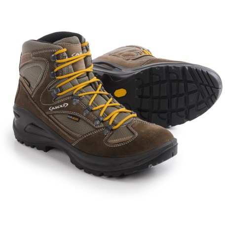 AKU Teton Gore-Tex® Hiking Boots - Waterproof (For Men) in Beige/Ochre