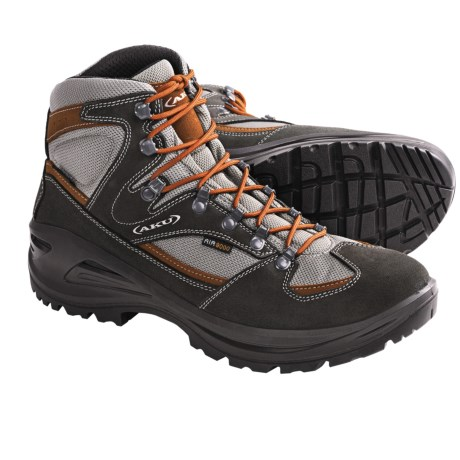 AKU Teton Gore-Tex® Hiking Boots - Waterproof (For Men) in Grey/Orange