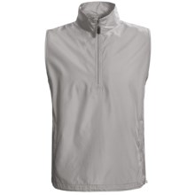 AKWA Wind Vest - Zip Neck (For Men) in Light Grey - Closeouts