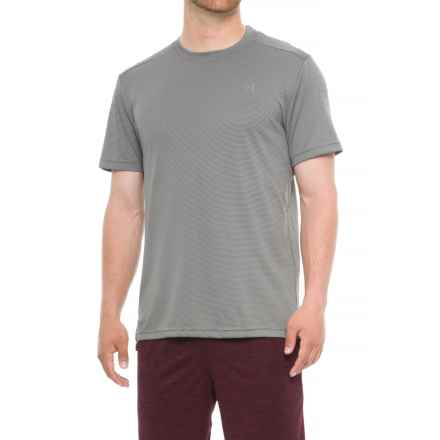 AL1VE Bubble Mesh Wicking T-Shirt - Short Sleeve (For Men) in Castlerock - Closeouts