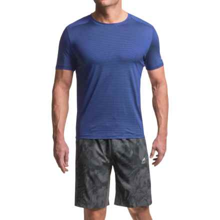 AL1VE Core Running Shirt - Short Sleeve (For Men) in Really Royal - Closeouts