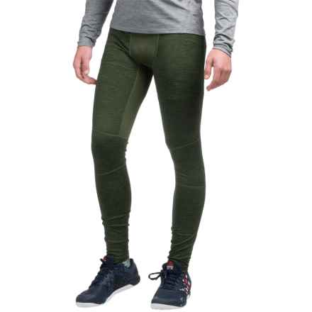 AL1VE Heathered Base Layer Tights (For Men) in Army Green Heather - Closeouts