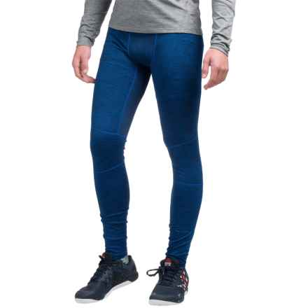 AL1VE Heathered Base Layer Tights (For Men) in Blue Devil Heather - Closeouts
