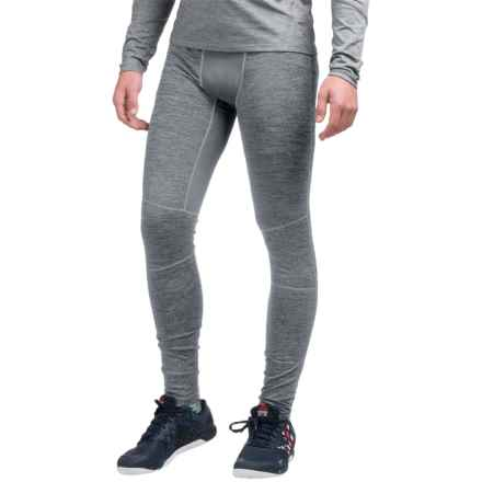 AL1VE Heathered Base Layer Tights (For Men) in Grey Flannel Heather - Closeouts