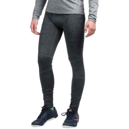 AL1VE Heathered Base Layer Tights (For Men) in Greystone Heather - Closeouts