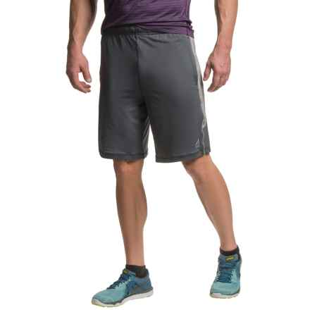 AL1VE Knit Running Shorts (For Men) in Anthracite/Medium Grey Heather - Closeouts