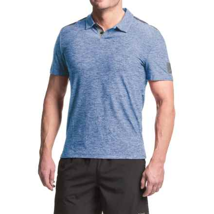 AL1VE Printed Polo Shirt - Short Sleeve (For Men) in Really Royal - Closeouts