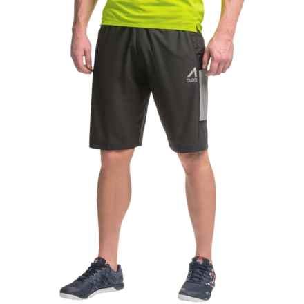AL1VE Woven Stretch Shorts (For Men) in Rich Black - Closeouts