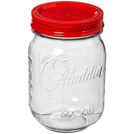 Aladdin Mason-Style Food Jar - 20 oz. in Tomato