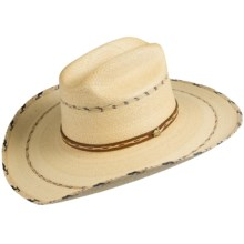 Alamo Hats Montana Cowboy Hat (For Men and Women) in Natural - Closeouts