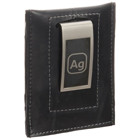 Alchemy Goods Bryant Money Clip Wallet - Upcycled Bike Tube in Silver