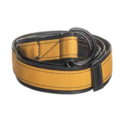 Alchemy Goods Burke Reversible D-Ring Belt in Gold - Closeouts