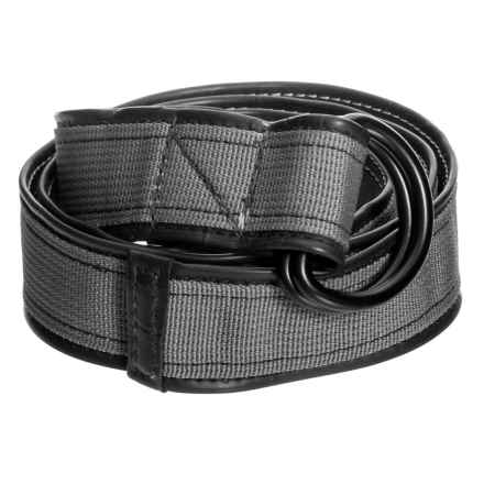 Alchemy Goods Burke Reversible D-Ring Belt in Silver - Closeouts