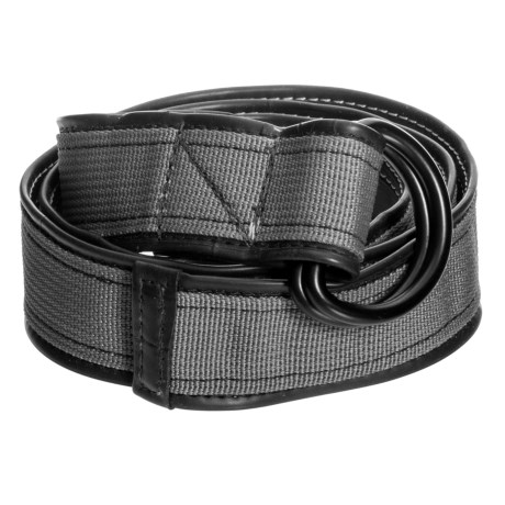 Alchemy Goods Burke Reversible D-Ring Belt in Silver