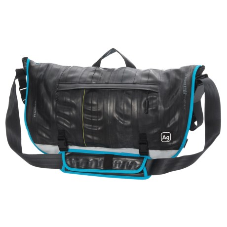 Alchemy Goods Dravus Messenger Bag in Turquoise Trim