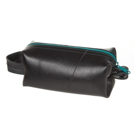 Alchemy Goods Elliott Mini Toiletry Bag - Recycled Materials in Teal