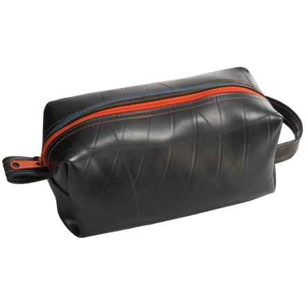Alchemy Goods Elliott Travel Kit - Large, Recycled Materials in Black/Orange - Closeouts