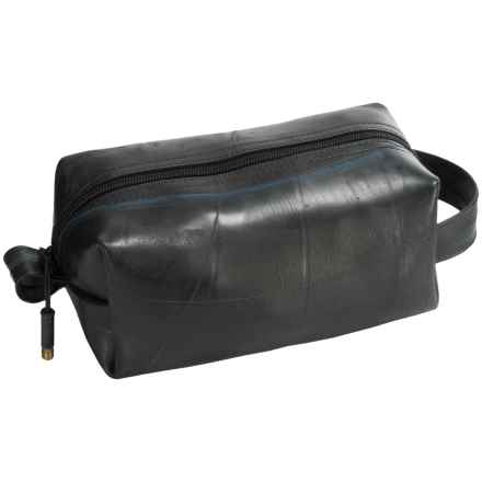 Alchemy Goods Elliott Travel Kit - Large, Recycled Materials in Black - Closeouts