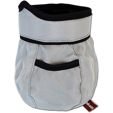 alcott Essential Treat and Ball Bag in Grey