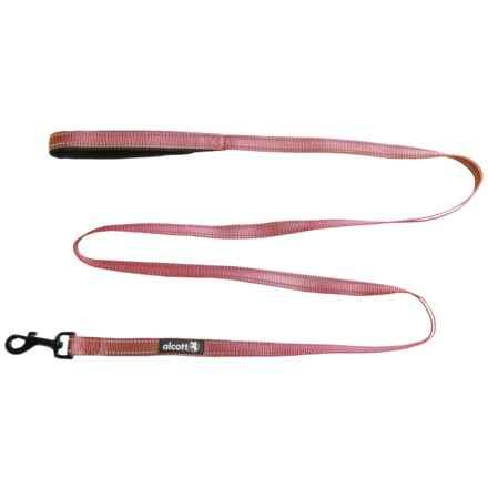 alcott Essentials Adventure Dog Leash in Red - Closeouts