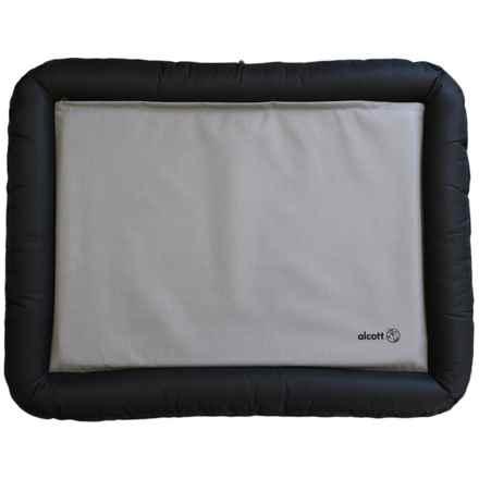 "alcott Essentials Rugged Bolster Dog Bed - Medium, 35x26"" in Black/Grey - Closeouts"