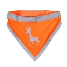 alcott Essentials Visibility Dog Bandana in Neon Orange - Closeouts
