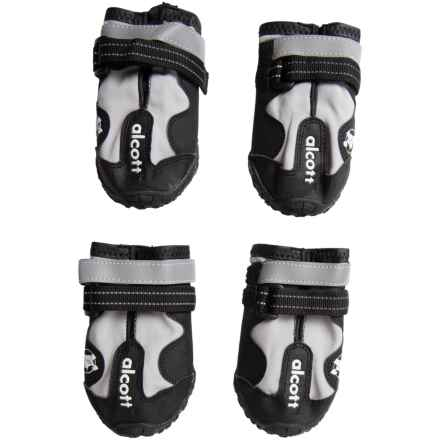 alcott Explorer Adventure Dog Boots in Black/Grey - Closeouts