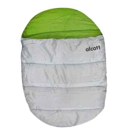 alcott Explorer Dog Sleeping Bag - Large in Green/Grey - Closeouts