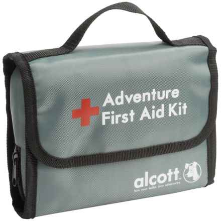 alcott Explorer First Aid Kit in Grey - Closeouts