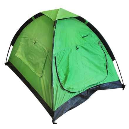 alcott Explorer Pup Tent in Green/Black - Closeouts
