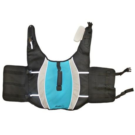 alcott Mariner Dog Life Vest - Large in Blue