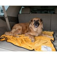 """Alcott Traveler Comfort Fleece Dog Blanket - 50x50"""" in Orange - Closeouts"""