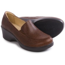 Alegria Emma Clogs - Leather (For Women) in Masonry Chocolate - Closeouts